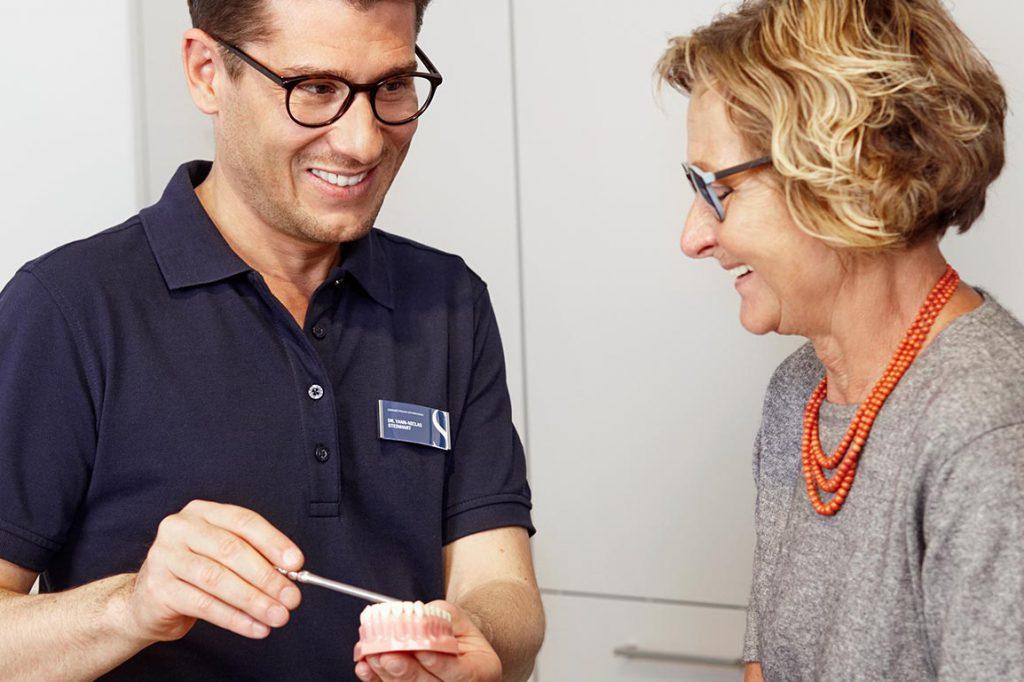 Hochwertiger Zahnersatz / Prothetik